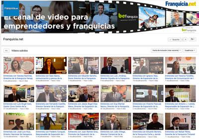 Canal video franquicias