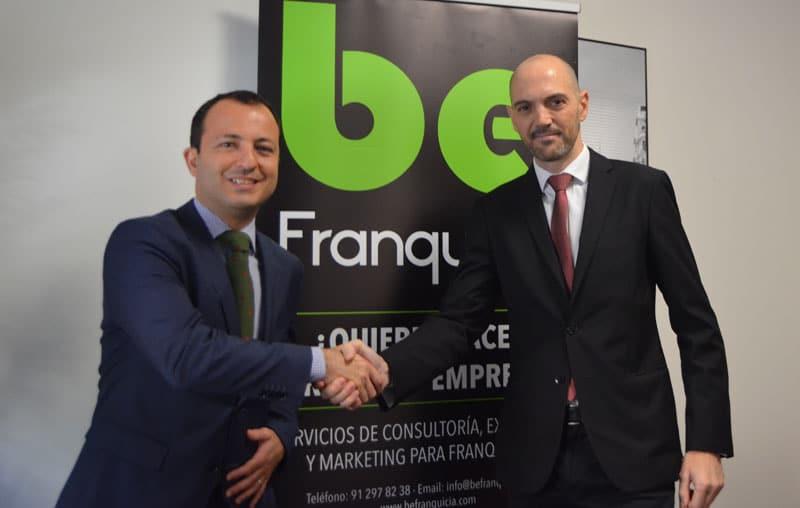 Acuerdo BeFranquicia M&DK