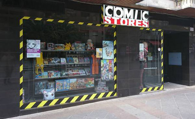 Franquicia Comic Store
