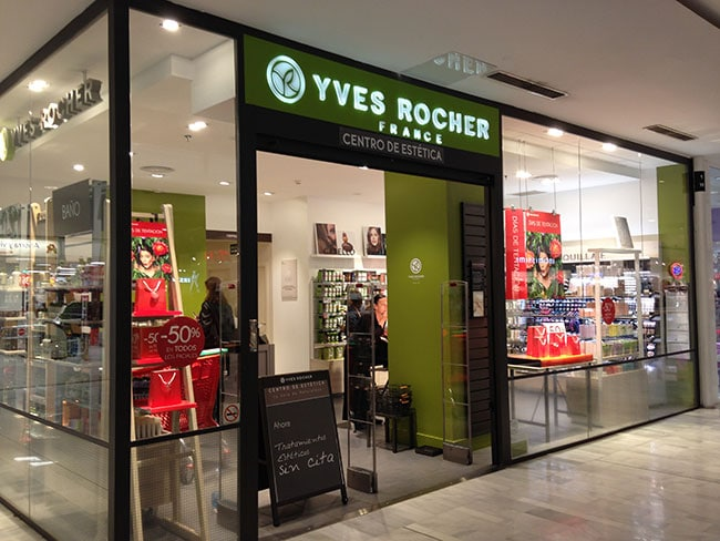 Franquicia Yves Rocher
