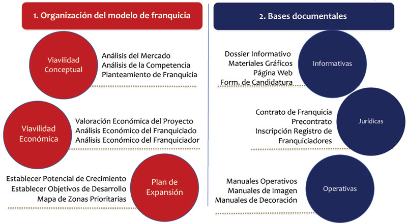 Fases proyecto franquicia